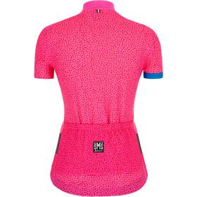 Santini Giada Hip Koszulka rowerowa z zamkiem błyskawicznym Kobiety, pink